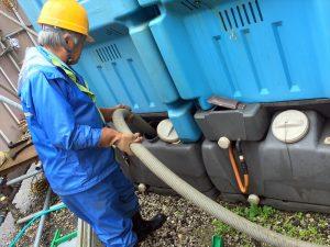 し尿の収集運搬