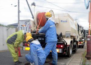 下水・排水管洗浄清掃業務