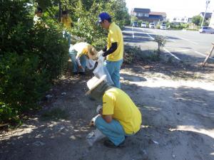 町内清掃活動